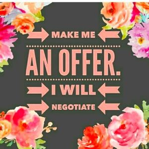 🌹All offers are negotiable🌹